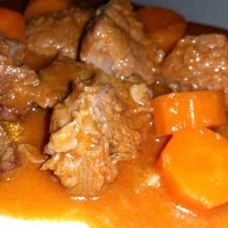 Spezzatino con carote