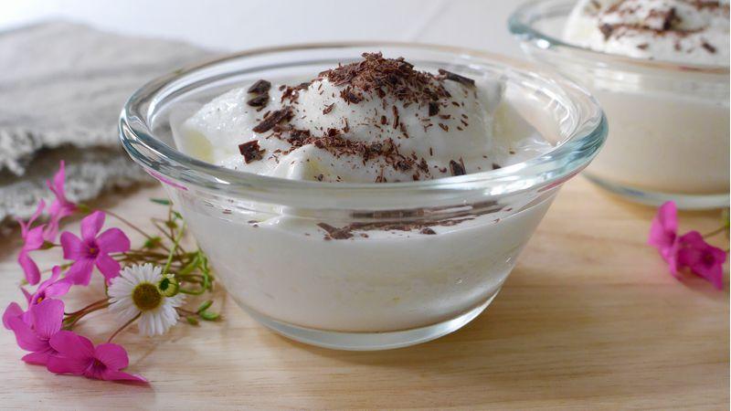 Spumone allo yogurt