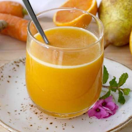 Succo di carota arancia e zenzero