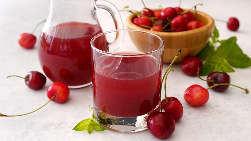 Succo di ciliegie