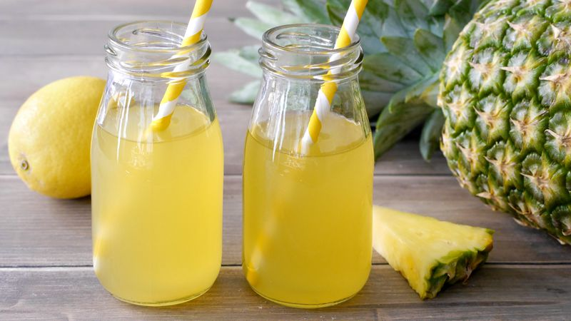 Succo di frutta all'ananas