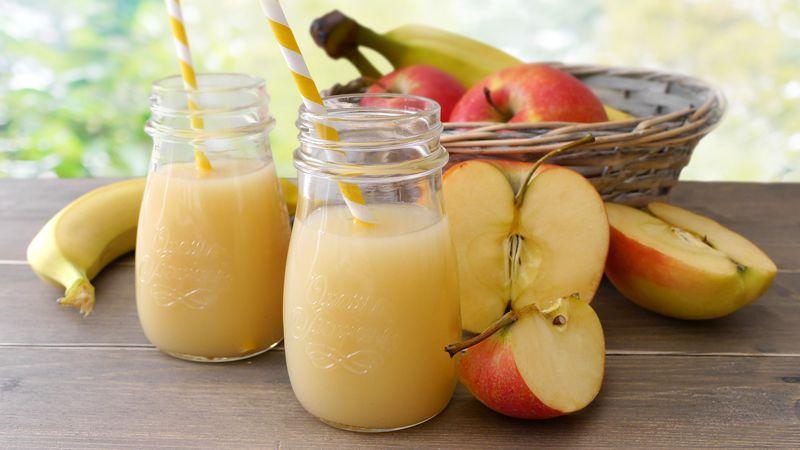 Succo di frutta mela e banana