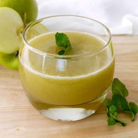 Succo di pompelmo mela e menta