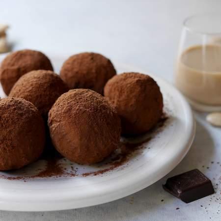Tartufini al cioccolato e Baileys