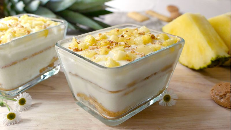 Ricetta Tiramisu Ananas Senza Uova.Tiramisu All Ananas Ricette Bimby