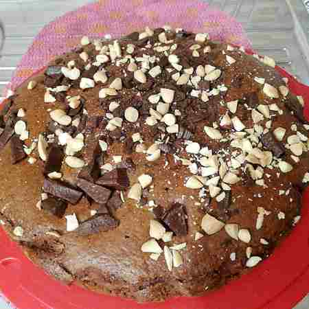Torta 7 vasetti cacao e mandorle