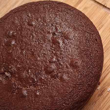 Torta al cacao con farina di riso