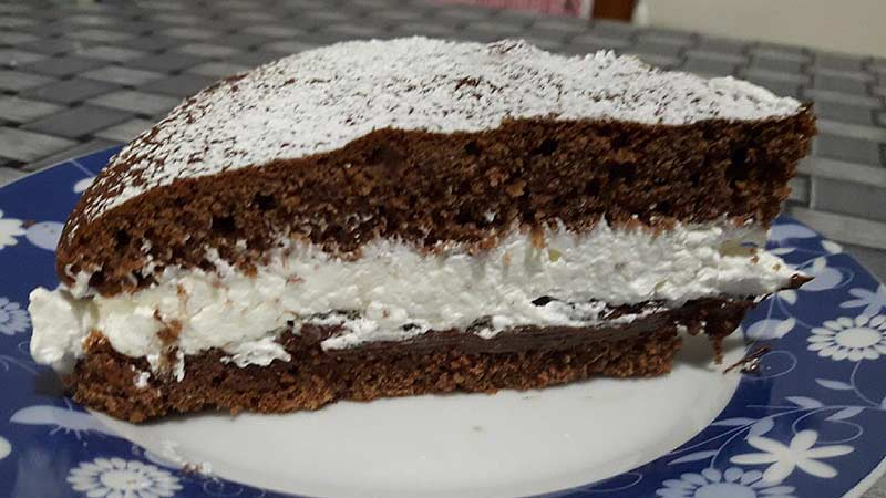 Ricetta Torta Nutella E Panna.Torta Al Cacao Panna E Nutella Ricette Bimby
