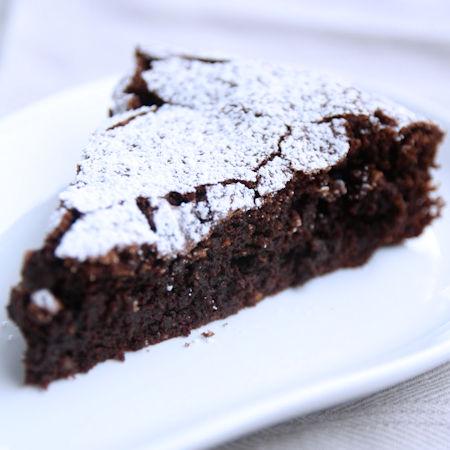 Torta al cioccolato semplice