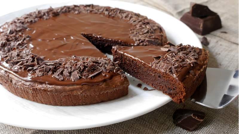 Dolci Senza Farina E Uova.Torta Al Cioccolato Senza Farina