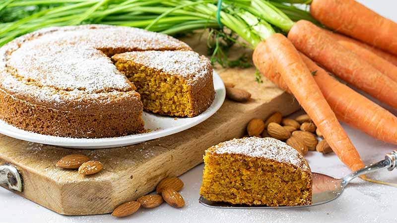 Torta carote e mandorle ricette bimby for Ricette bimby torte