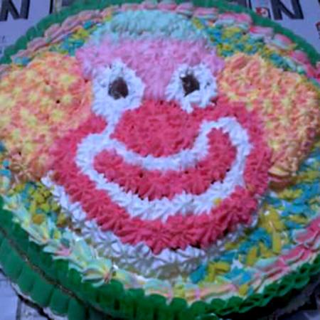 Torta clown di Angela
