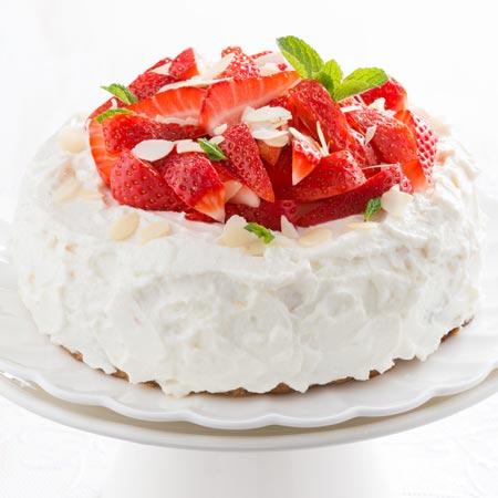 Torta crema e panna montata