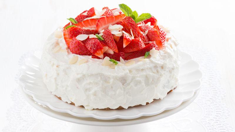 Torta crema e panna montata ricette bimby - Come sostituire la panna da cucina ...