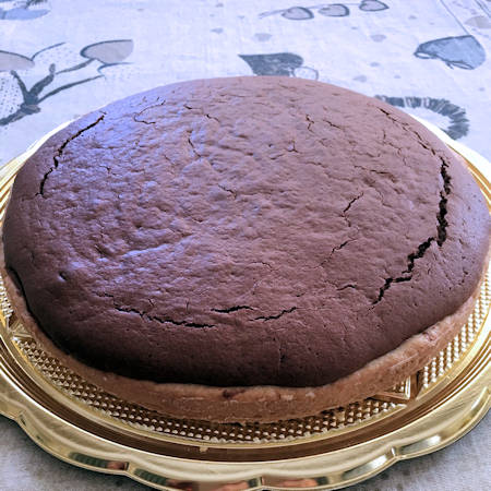 Torta crostata Nutella e cacao