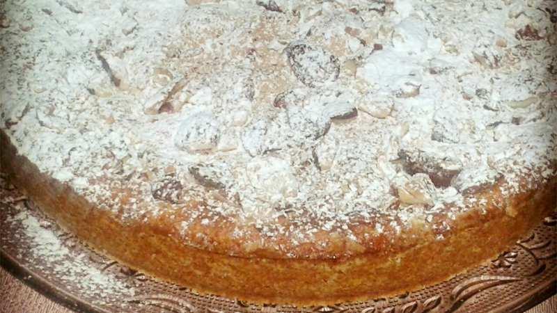 Torta Mandorle Bimby.Torta Della Nonna Alle Mandorle