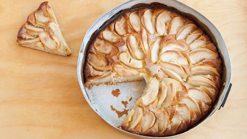Torta di mele veloce senza glutine