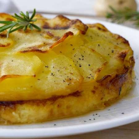 Torta di patate e provola