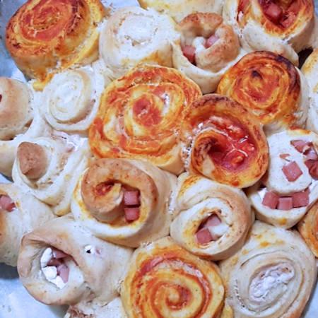Torta di rose salata multigusto