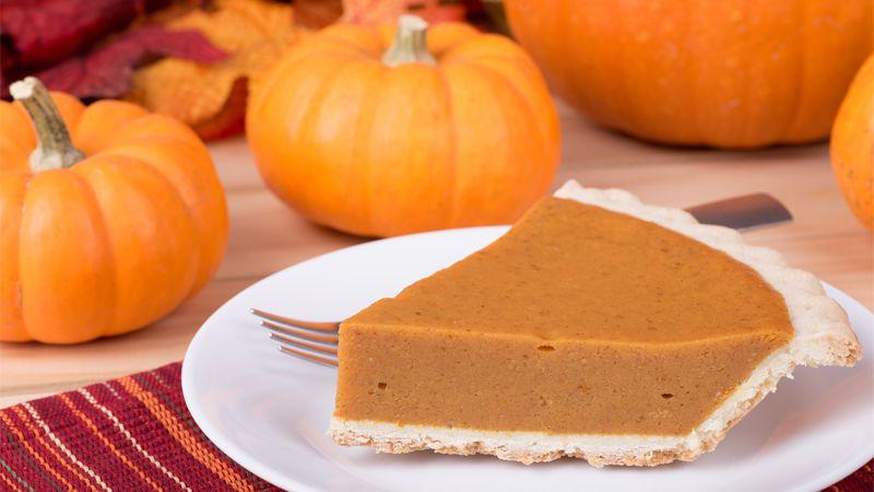 Torta Di Zucca Americana Pumpkin Pie