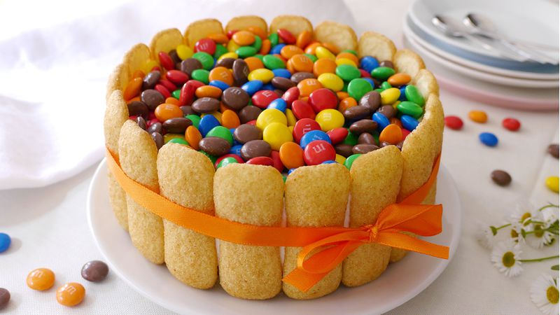 Torta gelato Nutella e Smarties