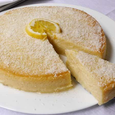 Torta impossibile cocco e limone