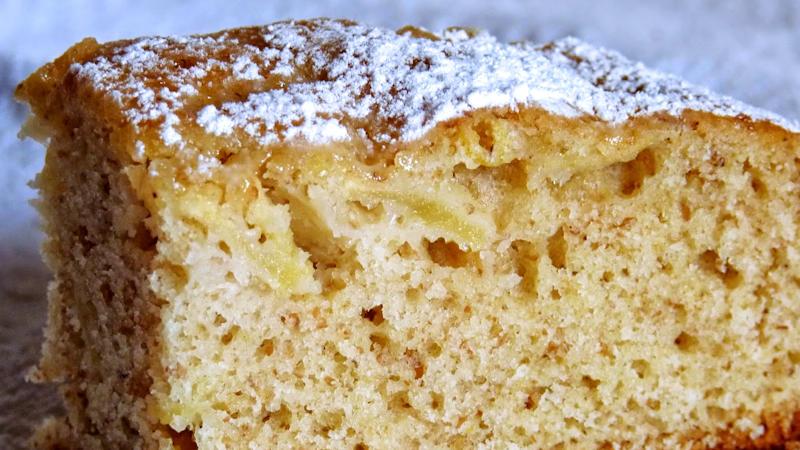 Ricetta torta di mele integrale bimby