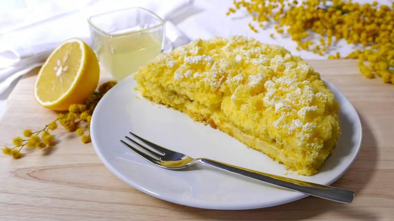 Torta mimosa al limoncello