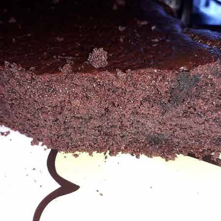 Torta morbida cacao e ricotta
