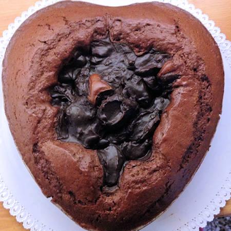 Torta Nua al cioccolato e rum