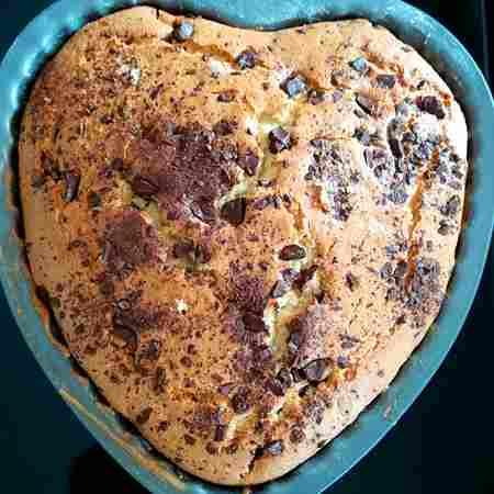 Torta Nutella e gocce di cioccolato