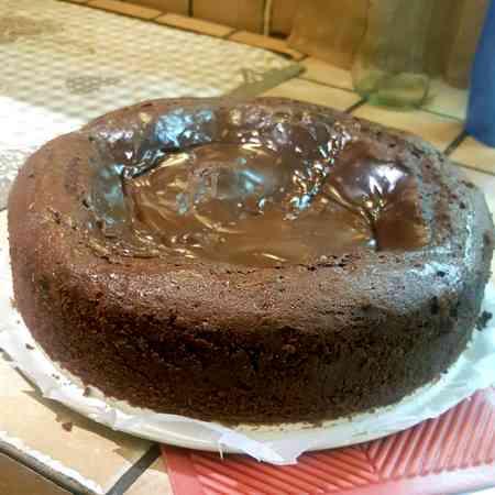 Torta nuvola cioccolato e Nutella