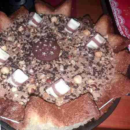Torta pandoro Kinder