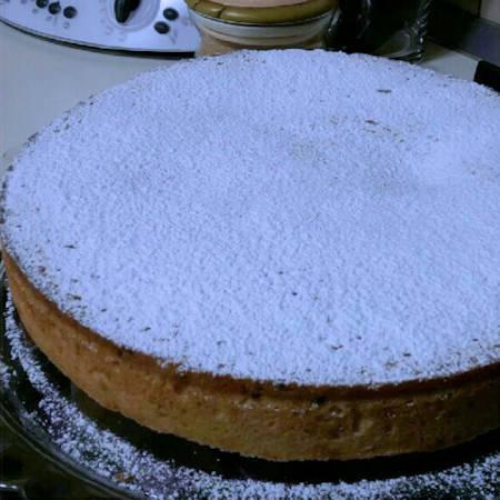 Torta pasticciotto con ricotta e gocce di cioccolato