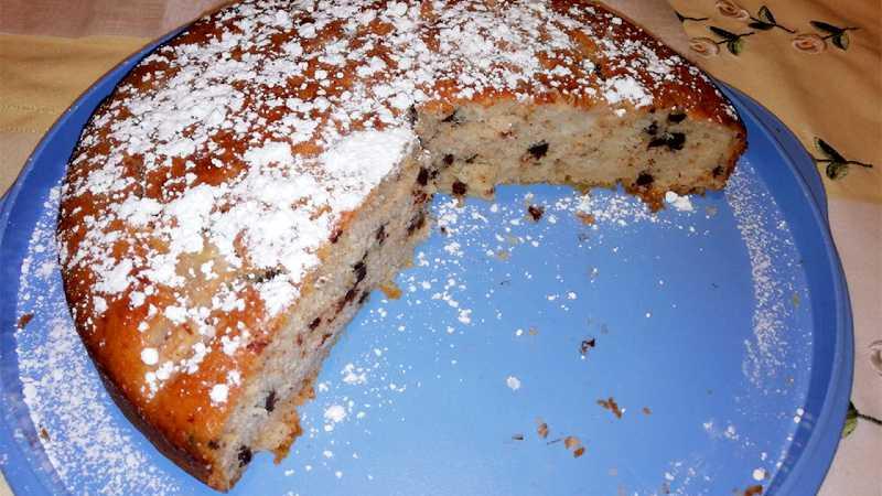 Ricetta Torta Pere E Yogurt Bimby.Torta Pere E Gocce Di Cioccolato Senza Uova Ricette Bimby