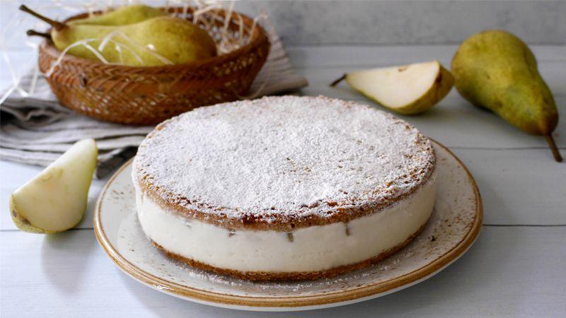Torta Ricotta E Pere Ricette Bimby