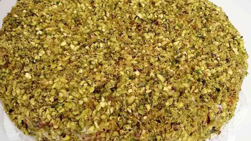 Torta ricotta e pistacchi