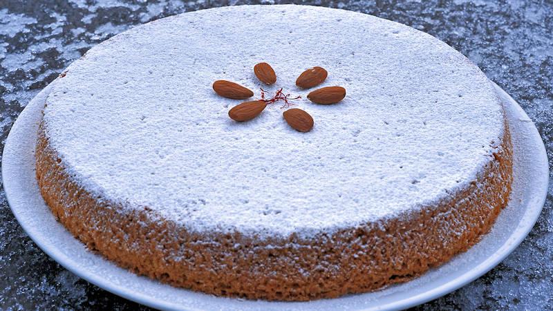 Torta rustica mandorle e amaretto