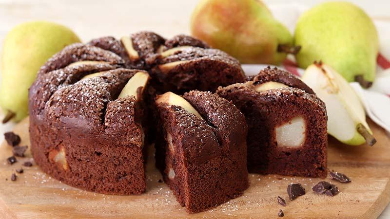 Ricetta Torta Pere E Yogurt Bimby.Torta Soffice Cioccolato E Pere Ricette Bimby
