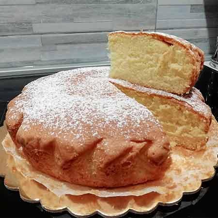 Torta soffice leggera