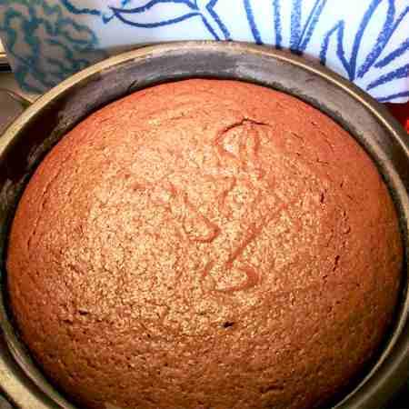Torta veloce cioccolato e ricotta
