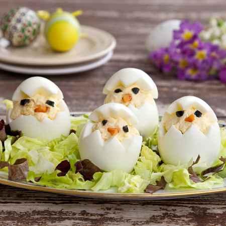 Uova pulcini di Pasqua