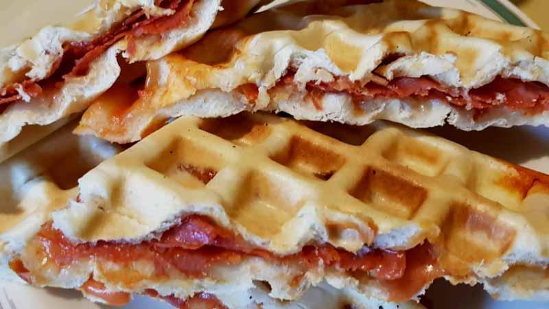 Ricetta Wafer Con Bimby.Waffle Salati Ripieni Ricette Bimby