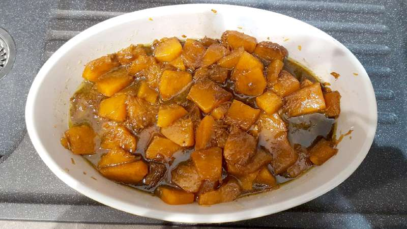Zucca In Agrodolce Ricette Bimby