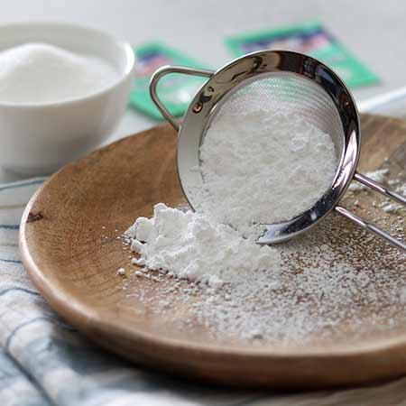 Zucchero a velo vanigliato