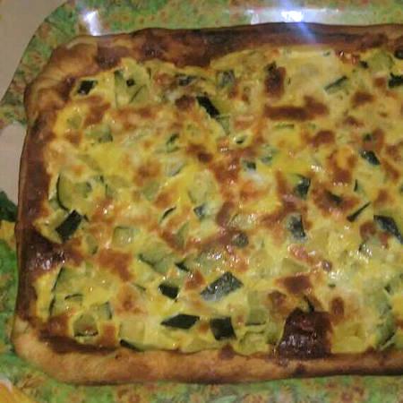 Zucchine in pizza