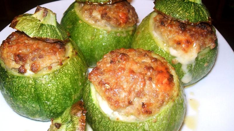 Zucchine tonde ripiene ricette bimby for Cucinare zucchine tonde