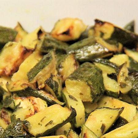 Zucchine trifolate veloci