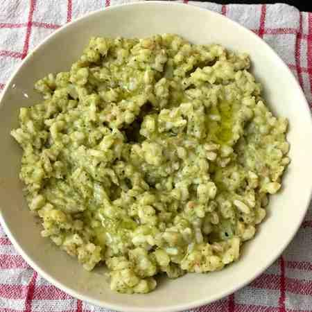 Zuppa cremosa ai 5 cereali