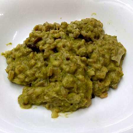 Zuppa d'orzo saporita